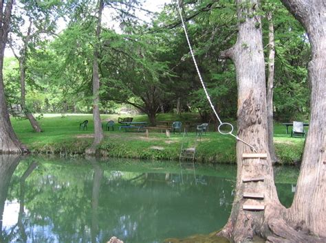 wimberley tx blue hole recreation area photo picture