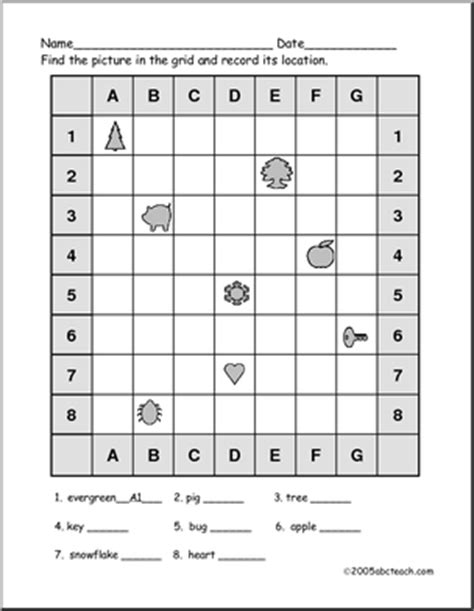 grid pattern worksheets grids shapes and 7 x 8 elementary 2 abcteach