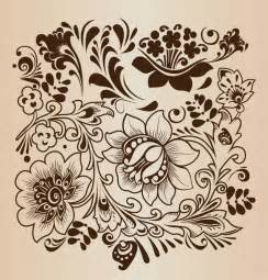 decorative flower pattern vector illustration free vector graphics all free web resources
