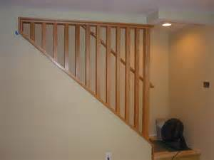 Removable Banister by A Removable Stairway Wall And Railing Makes Moving