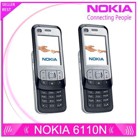Jual Nokia 6110 Navigator Fullset 6110n original unlocked nokia 6110 navigator mobile phone
