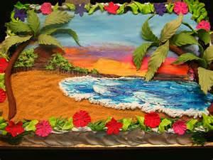 Owl Themed Birthday Decorations 1f Beach Scene