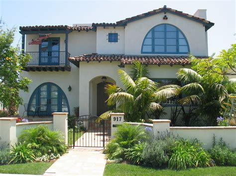 Front Patio Decor Ideas spanish colonial amp mediterranean style homes