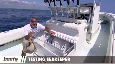gyro boat testing seakeeper gyroscopic stabilization for boats