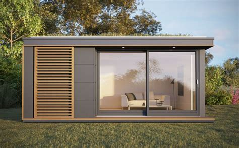 build backyard office uk garden pods outdoor office building designed by pod space prefab homes