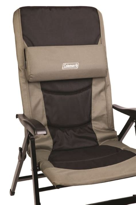 coleman reclining c chair 8 position recliner chair snowys outdoors