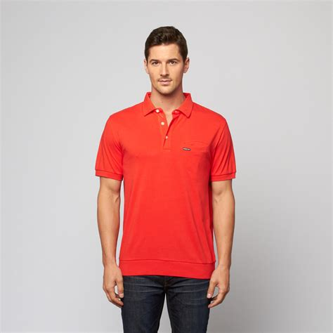 signature polo shirt sunset s members only touch of modern