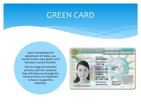 green card through employment fees infocard co