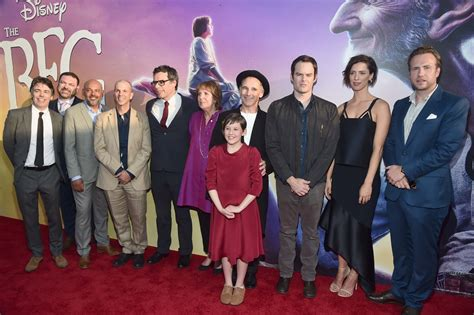 The Bfg Red Carpet Premiere With Pictures Cast Of The With The