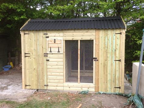 large outdoor pen glenville large outdoor kennel cherry acres animal housing