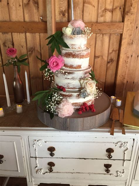shabby chic floral wedding cake cakecentral com