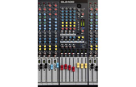 Mixer Allen Heath Gl2400 16 gl2400 16 allen and heath dual function live sound