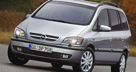 opel zafira fuel consumption opel zafira minivan mpv 2003 2005 reviews technical