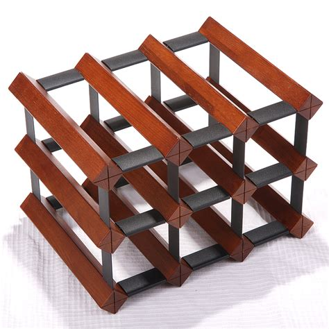 red wine rack red wine rack theroom red wine rack mahogany solid wood