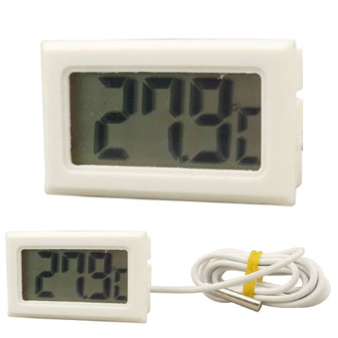 refrigerator freezer display temperature thermometer digital lcd display for