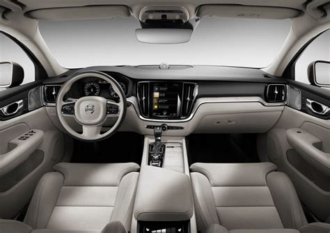 volvo s60 2019 interior 2019 volvo s60 revealed topped by t8 polestar engineered