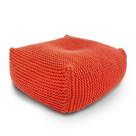 knitted ottoman table italpouf