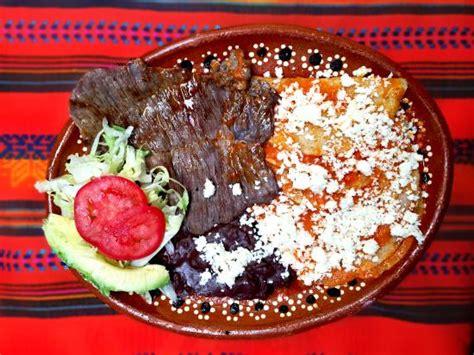 imagenes enchiladas rojas enchiladas rojas con cecina acompa 241 adas de frijoles
