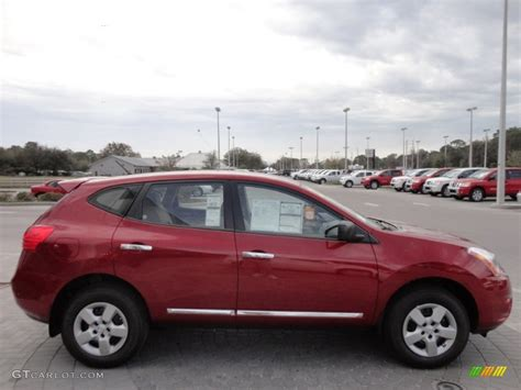 red nissan rogue cayenne red 2012 nissan rogue s exterior photo 61140881