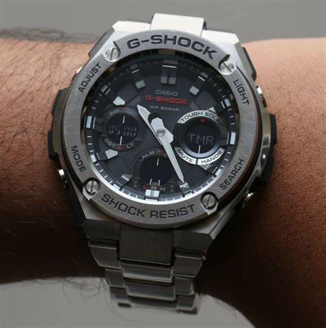 Casi G Shock casio g shock g steel gsts110d 1a review page 2 of