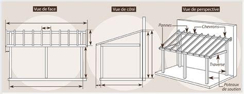 Comment Construire Un Carport Plan by Comment Construire Un Carport Ooreka
