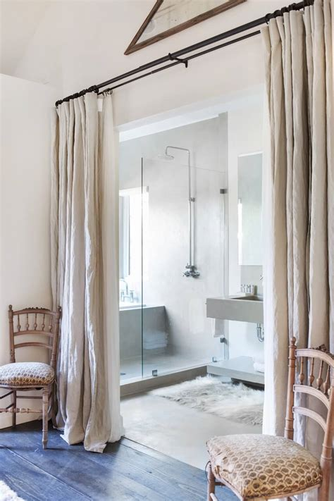 bathroom room dividers how to reinvent spaces with curtain room dividers