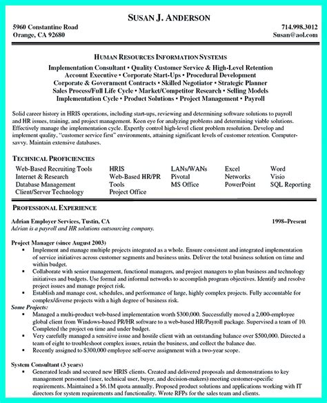 Projet Manager Resume Template by Construction Manager Resume To Get Approved