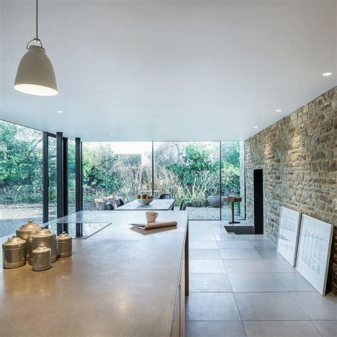 Kitchen Renovation Idea 17th century british cottage gets a glassy modern extension