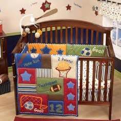 Boy Sports Crib Bedding by 1000 Images About Sports Theme Crib Bedding On