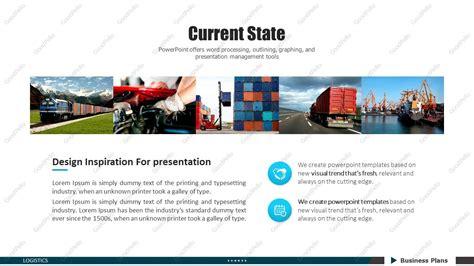 logistics powerpoint template poweredtemplate com 3 logistics ppt template strategy goodpello