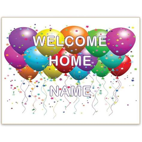 New House New Baby A Welcome Home Sign Template For Word Will Help You Celebrate Welcome Sign Template