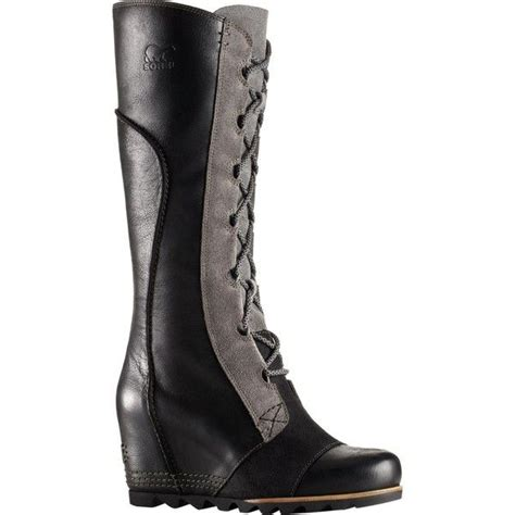 sorel cate the great wedge boot 260 liked on polyvore