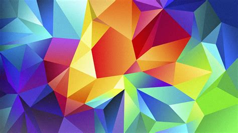 wallpaper polygon  hd wallpaper android triangle