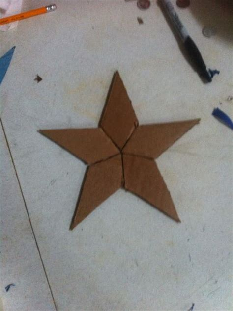 how to make a captain america shield out of cardboard and