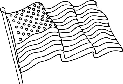 American Flag Coloring Pages Best Coloring Pages For Kids Flag Colouring Pages