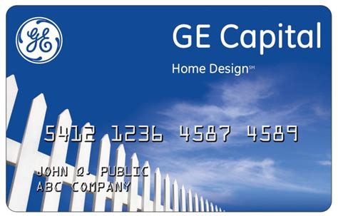 home design credit card ge money 28 images ge capital