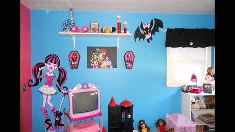 monster high bedrooms monster high bedroom youtube