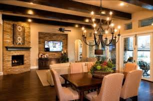 Whitman interiors model home in southlake transitional chandeliers