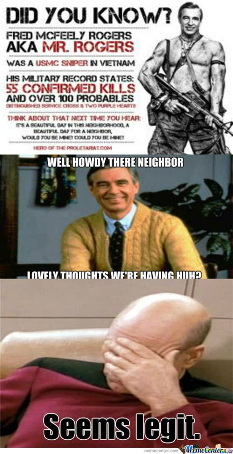 Mr Badass Meme - rmx mr rogers is a badass by chalkpwnz0r meme center