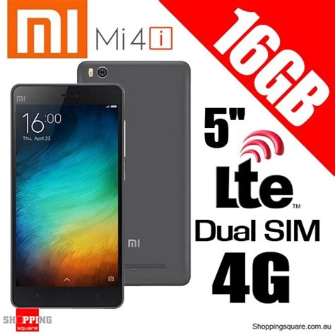Hp Xiaomi Mi4i 4g xiaomi mi4i 16gb dual sim 4g lte1 7ghz octa 5 smart phone black shopping