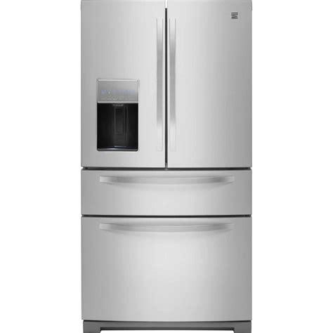 door refrigerator kenmore kenmore 72383 26 2 cu ft door refrigerator w