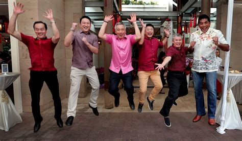 hsien loong new year like many s poreans pm was visiting hosting