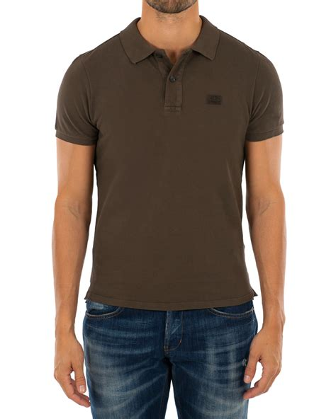 Sleeve Logo Polo Shirt c p company sleeve logo polo shirt cloud burst hos