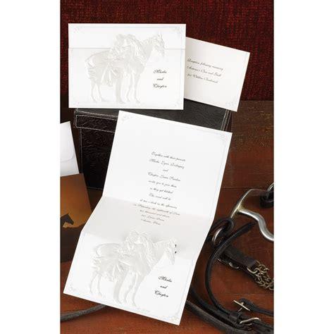 Western Wedding Invitation Paper by Western Wedding Invitation Invitations By