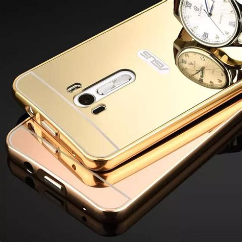 Luxury Mirror Asus Zenfone Max Zc550kl Soft Back Tpu Softcase fashion luxury gold mirror for asus zenfone max