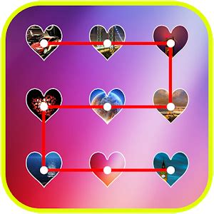 pattern applock download love pattern lock screen android apps on google play