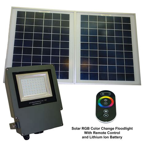 Sgg Rgb 54 2r Color Selectable Led Solar Flood Light Led Solar Flood Lights