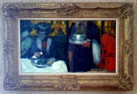 picasso paintings cafe pablo picasso at the caf 233 de la rotonde or l hippodrome
