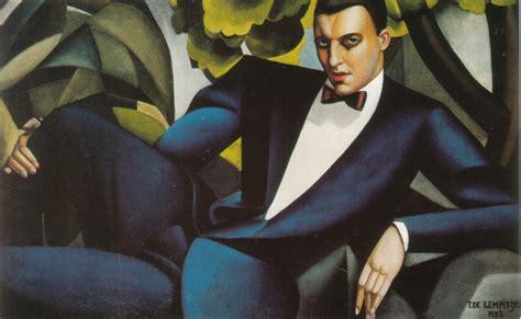 tamara de lempicka art portrait of the marquis d afflito tamara de lempicka