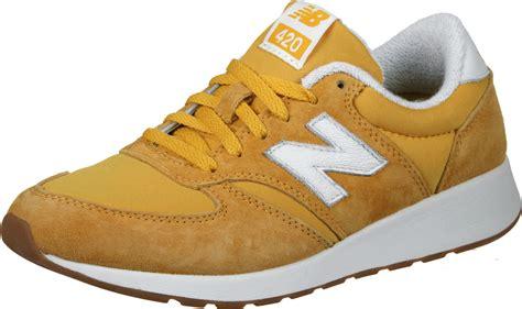 new balance wrl420 w shoes yellow white